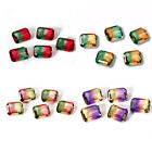 Kyпить 3.3 CT 9 * 11 MM Watermelon Natural Tourmaline Emerald Cut Loose Gems Wholesale на еВаy.соm