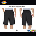 "Dickes 43214 Men's 13"" Loose Fit Casual Cargo Shorts Washed Cotton Twill 28-48"
