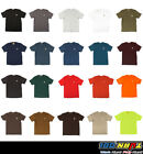Carhartt Men's T-shirt WorkWear K87 Pocket Basic Heavyweight Jersey Knit Top Tee image