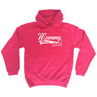 Funny Novelty Hoodie Hoody hooded Top - 2018 Mummy Since