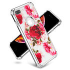 Shockproof Clear Unicorn Red Rose  Case Fits In iPhone XS Max/XR/X/6/6s/7/8 Plus