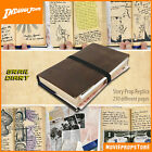 Indiana Jones GRAIL DIARY Prop Replica / 230 highly detailed pages / Inserts