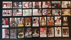 Lot Of 32 All Autograph & Jersey Baskeball Cards Auto Lamar Odom Andre Miller ++