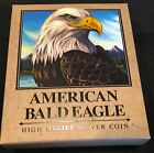 2014 P Tuvalu Silver American Bald Eagle Packaging ( OGP Only ) No Coin