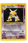 Pokemon Card Base Set Alakazam Holo Never played Mint condition.