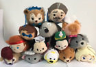Lots of Disney TSUM TSUM Mini Soft Plush Toys Screen Cleaner With Chain 3.5