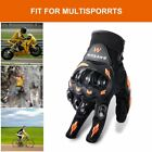 Unisex Anti-slip Shockproof Full-finger Motorcycle Tactical Protective Gloves AB