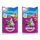 Whiskas DENTABITES Cat Kitten Mini Dental Daily Chicken Salmon Treats Snacks 50g