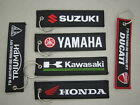 Embroidered Logo Motorcycle Keychain Motorcycle Key Fob Carabiner Keyring $10.55 CAD on eBay