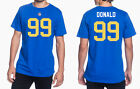 Aaron Donald, Los Angeles Rams #99 NFL Jersey Style Graphic T-Shirt Mens $24.99 USD on eBay