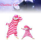 Cheshire Cat Unisex Animal Jumpsuit Pajamas Adult & Kid Onesie10 Costume Cosplay