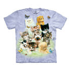 The Mountain 10 Kittens Adult Unisex T-Shirt image