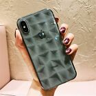 Lovebay Diamond Texture Case For iPhone 6 6s 7 8 Plus X XR XS Max Soft Phone