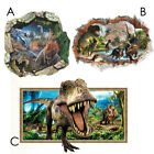 Dinosaur World Wall Stickers Home Decoration Jurassic Park Vinyl Decal 3d Mural
