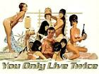 POSTER 007 JAMES BOND SEAN CONNERY SI VIVE ONLY TWO TIMES POSTER 1 $7.61 AUD on eBay