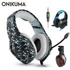 ONIKUMA K1 PS4 Gaming Headset casque Wired PC Stereo Earphones Headphones with M