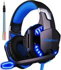ARKARTECH G2000 headphone wired game wired 5.1 ch fps PC ps 4 compatible Blue