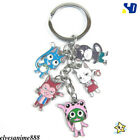 Anime Sailor Moon Alloy Key Ring Pendant Totoro Metal Key Chain Christmas Gifts
