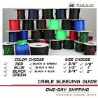 Внешний вид - 30FT All Sell Sizes & Colors Expandable Cable Sleeve Braided Sleeving Tubing LOT