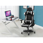 Heavy Duty Leather Computer Gaming Racing Chair Executive Recliner Office Chair