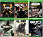 Xbox One Game Bundle Call Of Duty Black Ops 4, Black Ops 3 Gold Edition, Ww2