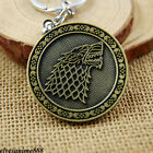 Game of Thrones Lannister LOGO Alloy Key Chain Metal Key Ring Accessories Gifts