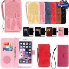Bling Campanula Wallet PU Leather Flip Case Cover Stand Card Hoder For iPhone ZS