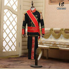 Kids Royal King Prince Jacket Pant Full Set Kid Medieval Leader Cosplay Costume