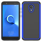 For Alcatel TCL LX/Ideal XTRA/1XEvolve/Avalon V Shockproof Rugged Rubber Case