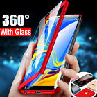 360° Full Cover Case + Tempered Glass for Samsung Galaxy J3 J5 J7 Pro A7 A5 2017