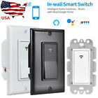 Smart WIFI Wall Light Switch Remote For Alexa & Google IFTTT Control Smart Life