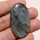 Gigantic Natural Madagacar Blue Flame Labradorite Oval Gemstone Loose Cabochon A