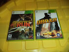 Driver - San Francisco + Need For Speed - The Run (X-Box 360) Games / Lot of 2