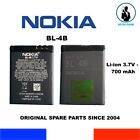 GENUINE BATTERY NOKIA BL-4B BL4B 700mAh 3,7V 2,6Wh OEM 2630 2660 2760 5000 6111