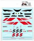Museum Collection 1/12 Yamaha YZR500 '97 Norick Decal for TAMIYA D439 from Japan