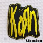 Punk Music Band Embroidered Metal Rock Sew On Iron On Patch Fabric Badge Craft