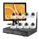 Vcamdo Home CCTV wireless security camera system with Hard Drive with Monitor