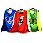 Adult Personalized Superhero Cape | Super Hero Cape with emblem and initial