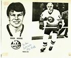 """""""New York Islanders"""" Roger Kortko Signed 8.5X11 Photo on Paper Sig Auctions LOA"""