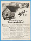 1918 Garford Motor Truck Co Lima OH Manufacturers Despatch NY Stake Bed Ship Ad