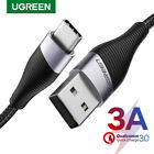 Ugreen USB Type C Cable 3A Quick Charge QC 3.0 Fast Charging Cable Fr Samsung S9