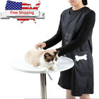 Dog Pet Grooming Apron Clothes Hair Cut Beautician Anti static Waterproof Smock