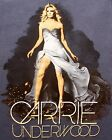 Carrie Underwood Blown Away Concert Tour CD Country Music T Shirt, Size Medium