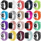 Silicone Replacement Sport Wrist Band Strap For Apple Watch Series 1/3/2/4 38/44 image