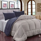 King Queen Comforter Set All-Season Reversible Down Alternative Hypoallergenic image