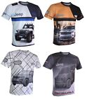 Jeep t-shirt Camiseta Maglietta grand cherokee SRT Hemi renegade wrangler racing $26.0 USD on eBay