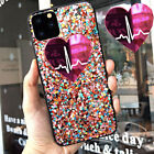 F iPhone 11 Pro Max 8 Plus XS Max XR Girls Love Cute Protective Phone Case Cover
