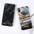 For iPhone XS Max X 8 7 6s Plus Luxury Slim Marble Pattern Hard Phone Case Cover