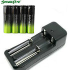 SKYWOLFEYE 18650 Battery 5800mAh Li-ion 3.7V Rechargeable Batteries with Charger