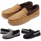 Mens Driving Loafers Slip On Soft Comfy Moccasins Suede Casual Flat Boat Shoes
